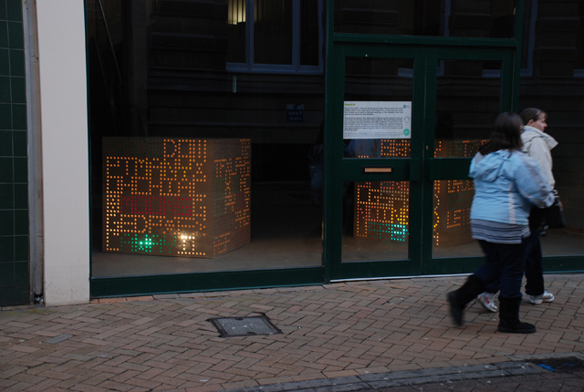 Raphael Daden | Arc, Hull City Council, Art in Empty Spaces  | Boxed In